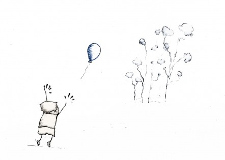 boy and balloon